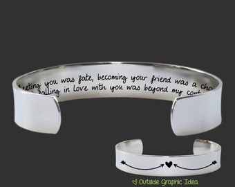 Meeting You Was Fate | Wife Gifts | Girlfriend Gifts | Fiance Gifts | Anniversary Gifts | Personalized Gifts | Korena Loves