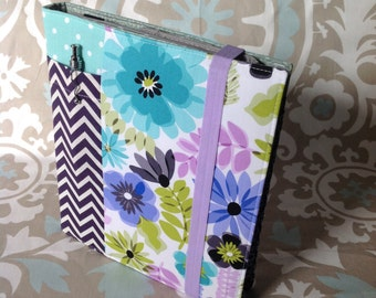 Violet Deluxe Wrap Around Ministry Folder