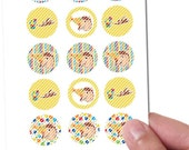 ON SALE PreCut Edible Icing Image Mini Standard Cupcake Cookie Cake Pop Lollipop Toppers Birthday Shower Party Favors Monkey George Bananas