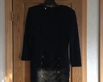 Clemante black dress