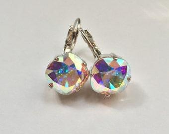 "Custom ""Diva"" Swarovski Crystal Earrings"