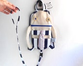 Backpack Harness | Add a leash strap to your toddler backpack | ADD ON backpack harness fabric strap | Custom strap add to your backpack