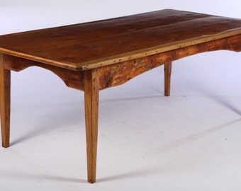 French Farm Table 19th Century