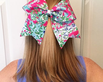 Lilly Pulitzer Cheer Bow