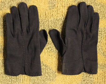 Vintage Black Pair of Women's Gloves