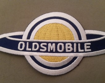 embroidered oldsmobile patch
