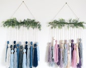 Custom Tassel Tapestry // Wall Hanging // Yarn Hanging / Wall Art