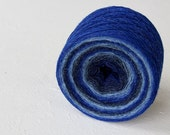 Laceweight 100% WOOL - blue shades- one ball 3.5oz/ 100 gr