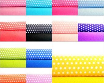 Felt Sheets Set x3 -  Colored Felt & Printed Felt - 3 Pieces