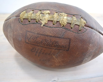 Vintage Football, Prime Top Leather, Ted Williams
