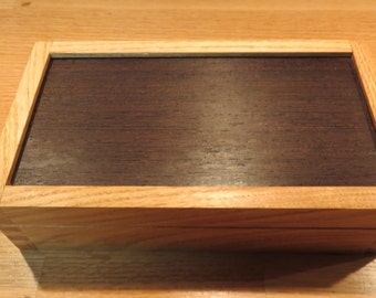 Oak and Wenge Box