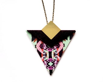 Statement Triangle Necklace