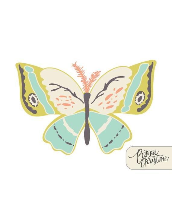 """Winged """"Wingspan"""" Print"""