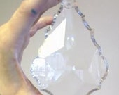"1 Clear 126mm Asfour 5"" Chandelier Crystals French Pendalogue Prisms Pendants"