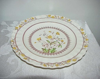 Spode Buttercup Old Backstamp Dinner Plate