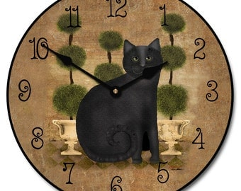 Feline Time Wall Clock