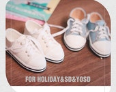 Low Top Sneakers for BJD sd / msd / yosd, 5 colors
