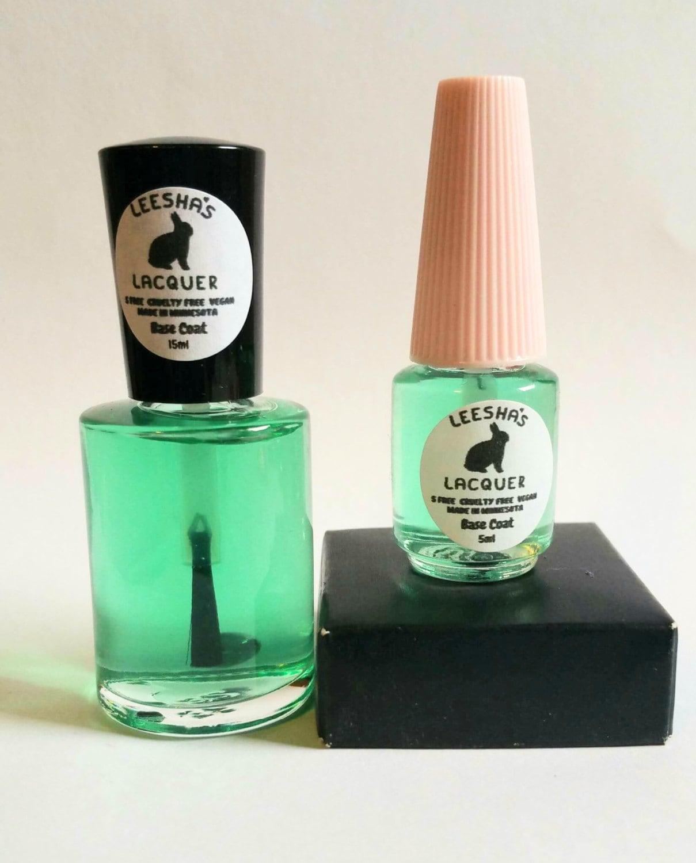Base Nail Polish: Base Coat Stain Protecting Nail Polish 5-Free Sticky Base