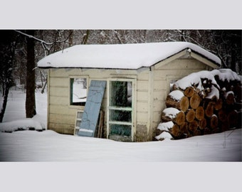 Winter Photography, Childs Playhouse