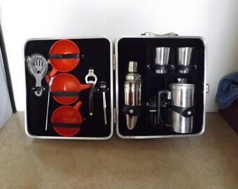 Portable Coffee and Bar Set
