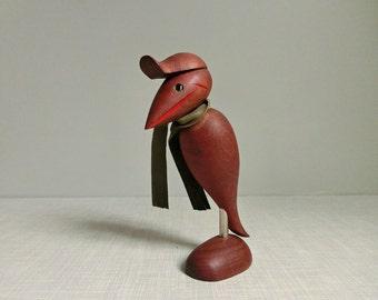 Bird teak Danish design | Bottle opener