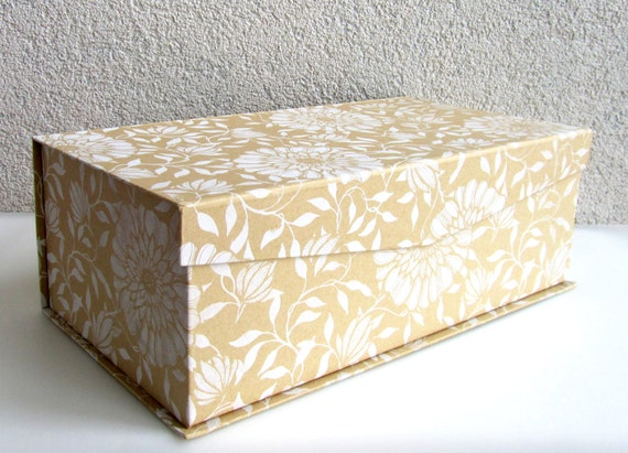 , large gift box, kraft brown gift box, gift box add on, wedding gift ...