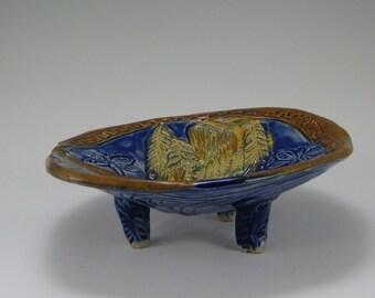 Stoneware Sculpted Bowl, Dragonfly, Half Dome, Yosemite Bowl