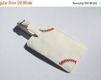 Summer Sports Sale Baseball Luggage Tag