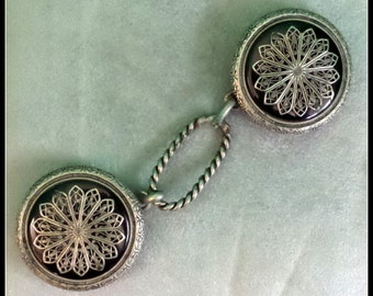 Vintage Belt Buckle Set