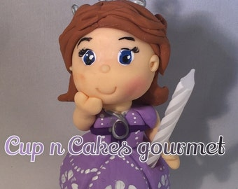 Sofia The First Candle / cake Topper