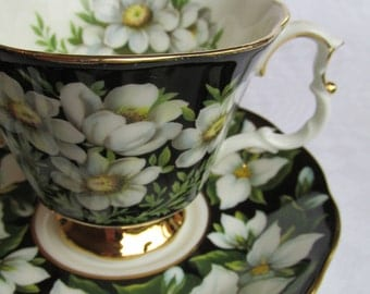 Royal Albert Provincial Flowers mismatched cup & saucer (more available) - beautiful!