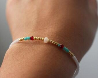 Beaded bracelet - mixed beaded bracelet