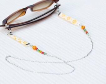 eyeglasses chain, neck cord glasses, sunglasses retainer