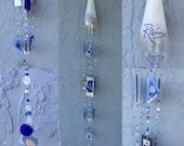 Rain Vodka Liquor bottle wind chime