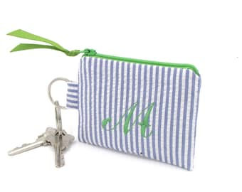 iPhone Earbud Holder, Keychain Pouch, Personalized Gift for Her