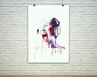 Live out loud Print
