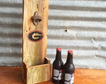 Reclaimed Wood Coca Cola Bottle Opener
