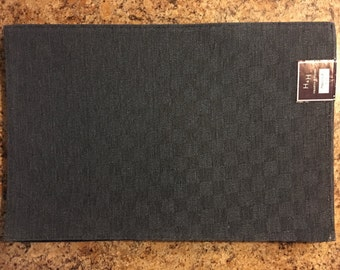 Placemats..FREE MONOGRAM..Set of 2..Hearth & Home Cotton Place Mats..Gift