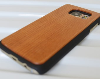 Wooden Samsung S7 case. Wood veneer with plastic chassis. Choice of woods. Wooden S7 case. S7 wooden case. S7 case.