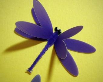 Vellum Dragonflies