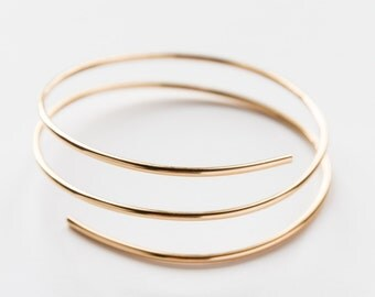 Gold Filled Hula Cuff