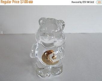 sale Vintage Genuine  Lead Crystal Bear
