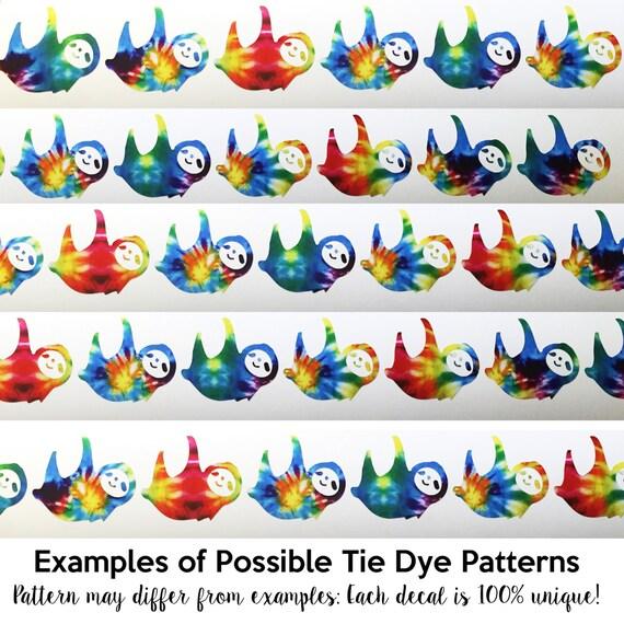 tie dye star pattern instructions