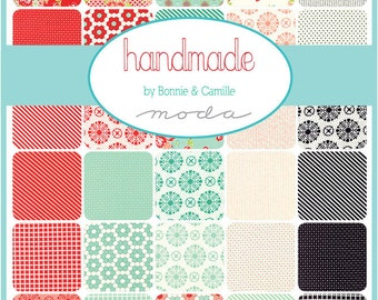 Handmade by Bonnie and Camille for Moda layer cake - available now