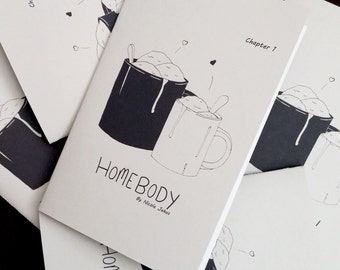 Home Body Chapter 1 Zine Mini Comic