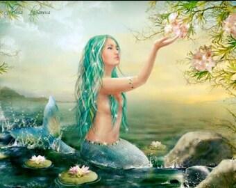 Mermaid Queen Soy wax melt Tarts