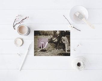 "ninotschka postcard ""friendship"""