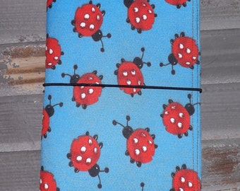 Lady Bug Love Faux Fabric Monadori