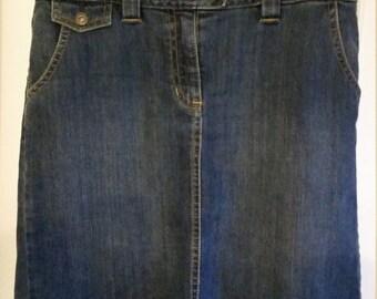 Ann Taylor Denim Skirt - Size 8