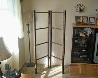 Corner / Quilt / Blanket / Wood Ladder Rack, Lower Price, LImited Time!